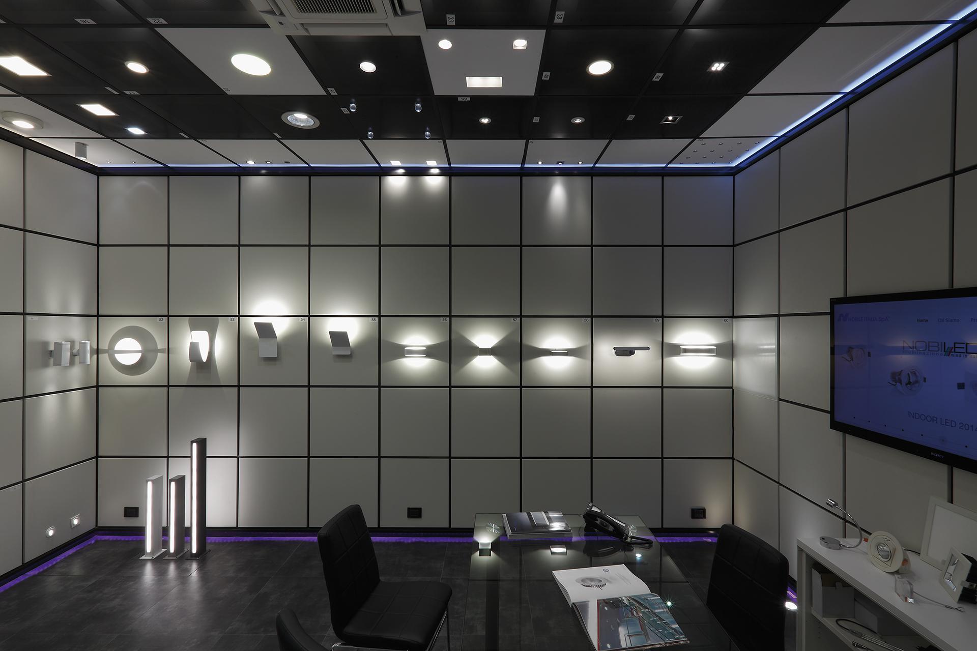 Nobile illuminazione p3 nobile sistemi di illuminazione for Sistemi di illuminazione led